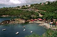 French Caribbean _ Caribbean Islands _ Guadeloupe _ Basse Terre _ Quesy Cove