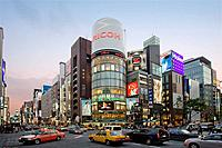 Chuo Avenue, Ginza District, Tokyo, Japan, Asia
