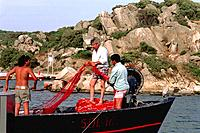 Italy _ Sardinia _ Fishermen
