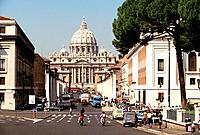 Italy _ Latium _ Roma _ St Pierre Basilica