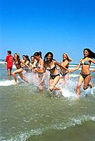 Beach _ Young Girls