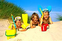 Beach _ Children in the Dune