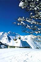 Mountain - St Martin de Belleville - Winter - Church (thumbnail)
