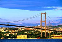 Turkey _ Istanbul _ The Bosphorus Bridge