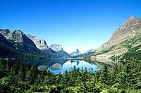 USA _ National Park _ Glacier _ Saint Mary Lake