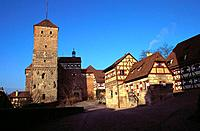 Germany _ Bavaria _ Nuremberg _ Imperial Castle