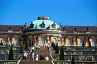 Germany _ Berlin _ Potsdam _ Sanssouci Castle