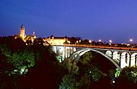 Luxembourg _ Luxembourg City _ Adolphe Bridge _ Petrusse Valley