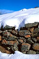Mountain _ Wall and Snow