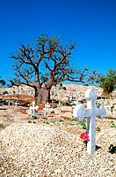 Senegal _ La Petite Cote _ Joal_Fadiouth _ Ile de Fadiouth _ Cimetiere de coquillages