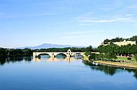 Vaucluse _ Haute Provence _ Avignon _ Pont St Benezet