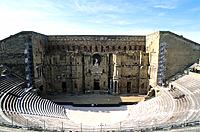 Vaucluse _ Haute_Provence _ Vallee du Rhone _ Orange _ Theatre antique