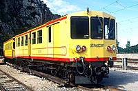 France _ Pyrenees Orientales _ Le train jaune