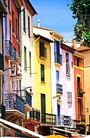 France _ Pyrenees Orientales _ Vieux quartier du Moure _ Collioure