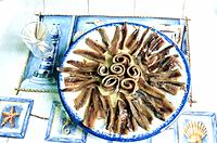 France _ Pyrenees Orientales _ Anchois sale _ Collioure