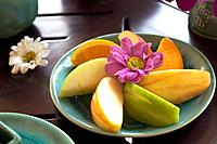 Spa _ Fruits and flowers