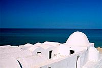 Tunisia _ The South _ Jerba _ West Coast _ Piste d'Ajim _ Mosque