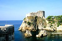 Croatia _ Dubrovnik _ Fort Saint_Laurent