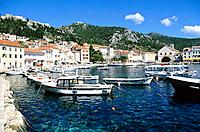 Croatia _ Ile de Hvar _ Hvar _ Le port