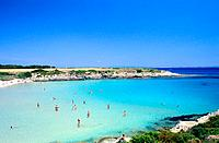 Italy _ Sardinia _ South Region _ San Pietro Island _ La Bobba Beach