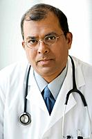 Portrait of Indian male doctor