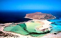 Greece - Crete - Peninsula of Gramvoussa - Lagoon of Balos (thumbnail)