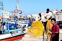 Greece _ Crete _ Fishermen _ H&#233;raklion