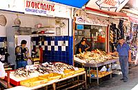 Greece _ Crete _ Market of Héraklion