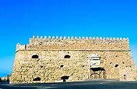 Greece _ Crete _ Héraklion _ Fortress of Kastro Koulès