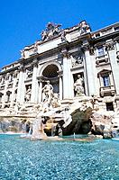 Italy _ Rome _ Latium _ The Trevi Fountain