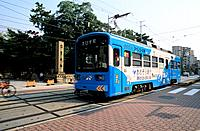 Japan _ The west of Honshu _ Osaka _ Transport _ Tramway