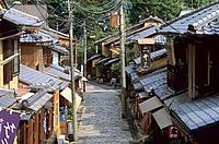 Japan - Kyoto - Higashiyama District - Sannenzaka Street (thumbnail)