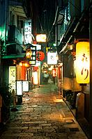 Japan _ The west of Honshu _ Osaka _ Dotombori backstreet