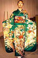 Japan _ Nishijin textile centre _ Kimono Show