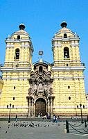 Peru _ Lima _ Church of San Fransisco and catacombs