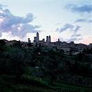 San Gimignano,Sienna,Tuscany,Italy