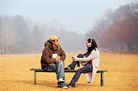 Couple at Park,Korea