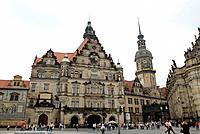 Dresden, theatre square, castle Residenzschloss