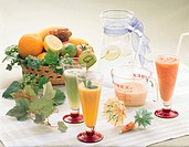 Orange Juice,Tomato Juice,Kiwi Juice