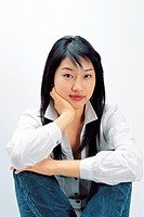 Portrait of Korean Girl