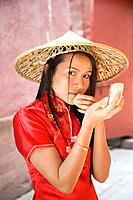 Asian woman´s portrait
