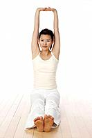 Woman Doing Yoga,Korea