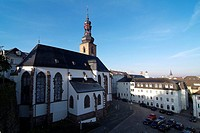 Germany, Saarland, Saarbrücken, palace_church