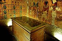 Kings Valley:  tumb of Tut Ank Amon. Luxor west bank. Egypt.