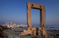 Temple of Apollo, Naxos, Cyclades, Greece
