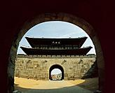 Janganmun Gate,Suwon Hwaseong Fortress,Suwon,Gyeonggi,Korea