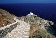 Cyclades, Sifnos Kastro village, Epta Martyres church