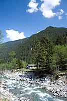 Austria, Vorarlberg, Montafon, silver_valley, river Litz
