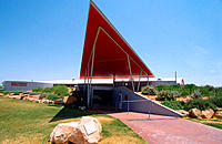 Qantas Airlines Founders Museum at Longreach. Outback. Australia