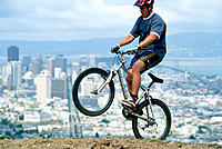 Mountain biking in San Francisco, CA